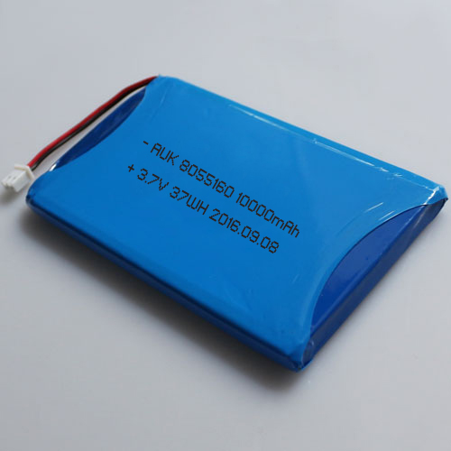 8055160 rechargeable 10000mah lipo battery 3.7v 10ah
