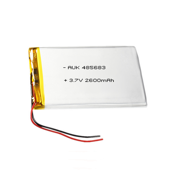 Rechargeable lipo battery 3.7v 2600mah li polymer battery for tablet pc