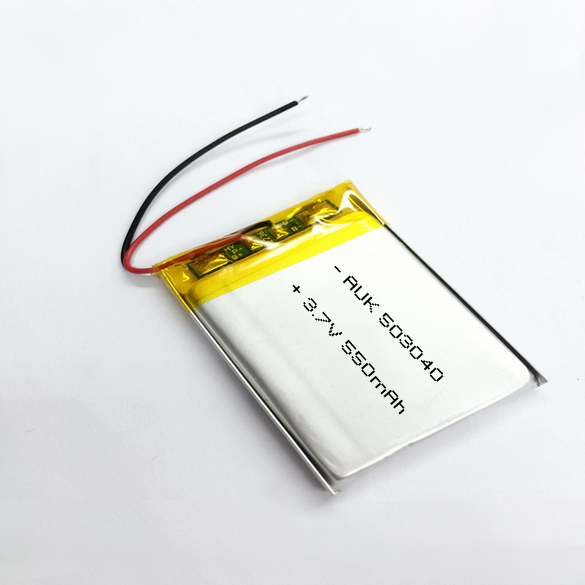 Small rechargeable 503040 550mah lipo battery 3.7v 550mah